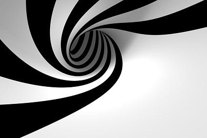 Sentido de rotación de material de imagen de fondo de espacio
