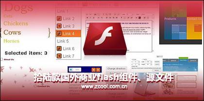 Lu ramasser les composants flash section commerciale étrangère, le fichier source
