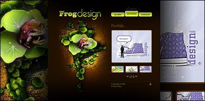 Exklusive Designer-weiten flash-Vorlagen