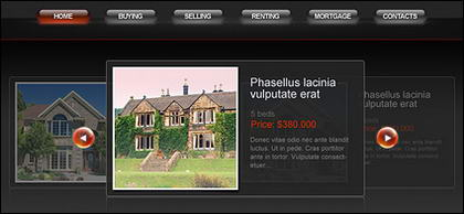Exquisite europ�ischen Stil Website Templates Psd + fla Quelldatei
