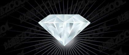 Matériau de diamant exquis de vecteur
