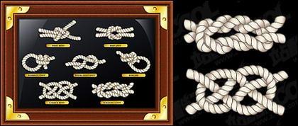 Matériau corde et du cadre de vecteur