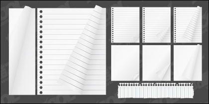 Matériau de bloc-notes papier