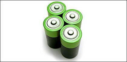 電池材料の緑のイメージ