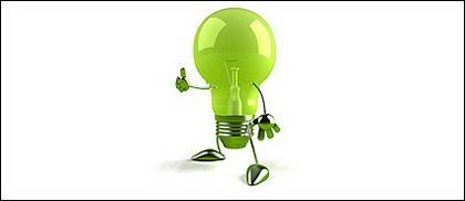 緑色の光の子供写真素材
