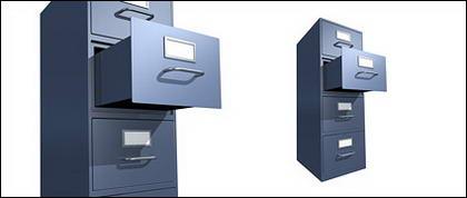 Un archivador de imagen material