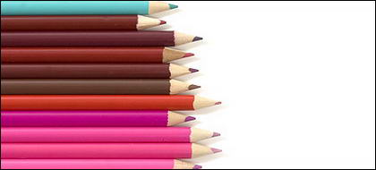 色鉛筆画像素材の配列