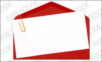 Papel de escrita de qualidade de imagem de envelopes vermelhos