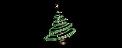 Material 3D árvore de Natal