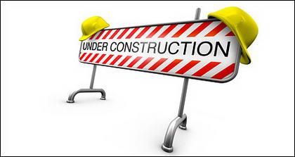 3 D の建設材料障害画像