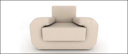 3 d のソファの画像素材