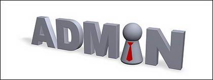 英語フォント管理者の 3 D 画像素材