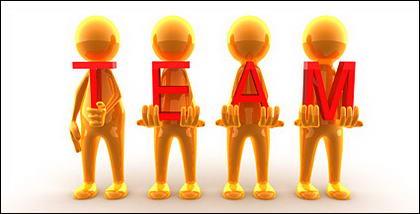 Team 3D poca imagen material
