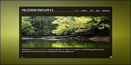 사이트 전체 플래시 + xml 페이지 템플리트의 가치