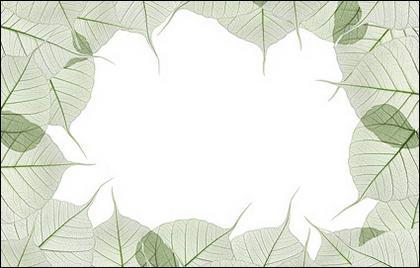 葉の装飾側画像素材の構成