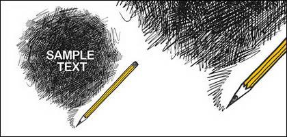 traits de crayon