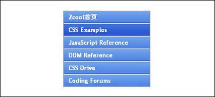 Barra de exploración vertical de CSS