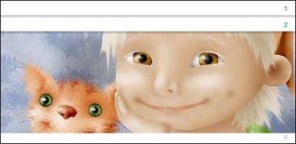 แฟลช + xml โฆษณารหัสของเกาหลีที่ซับซ้อน (4 รูปสลับ)