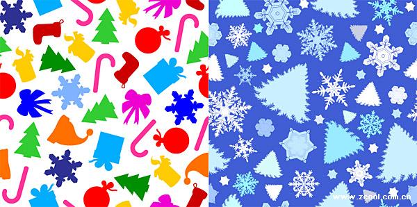 素敵なクリスマスのベクトルの背景素材