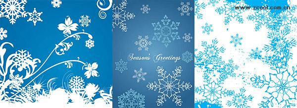 синий снежинки вектор справочных материалов