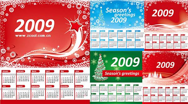 Calendrier de Noël 2009