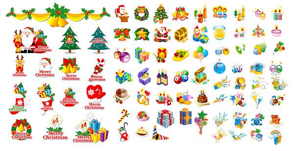 O tema do ícone do Natal clássico