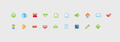 웹 디자인 작은 아이콘 gif