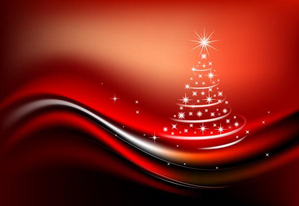 Starlight Рождественская елка вектор