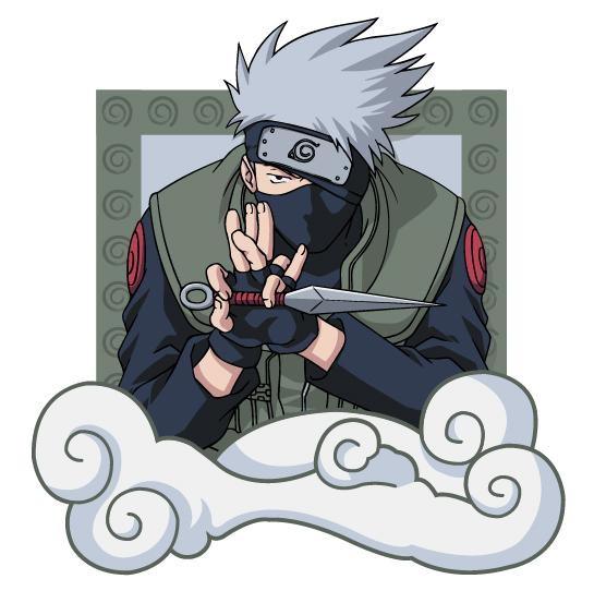 Les caractères de Naruto vecteur -4 matériel