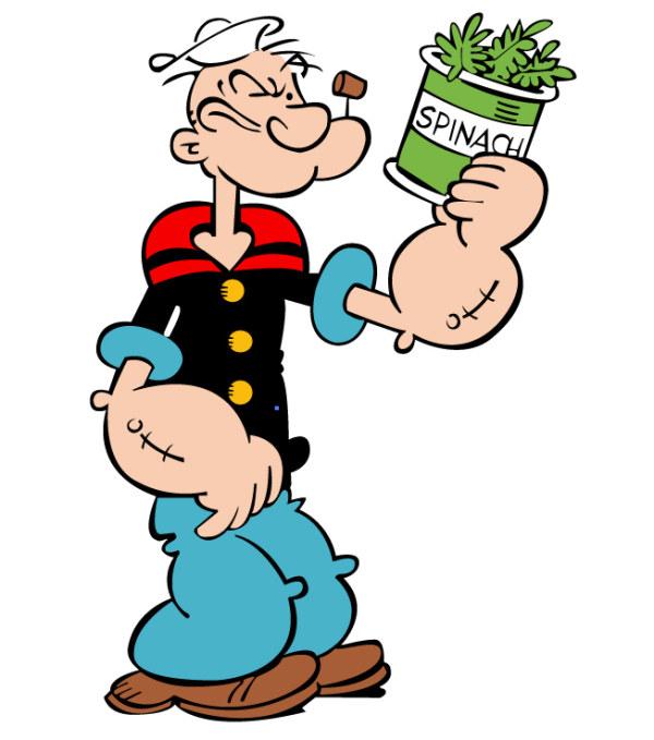 Popeye Vector de material