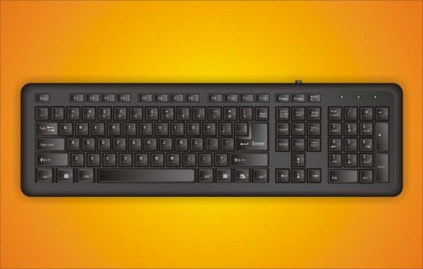 Vector de teclado