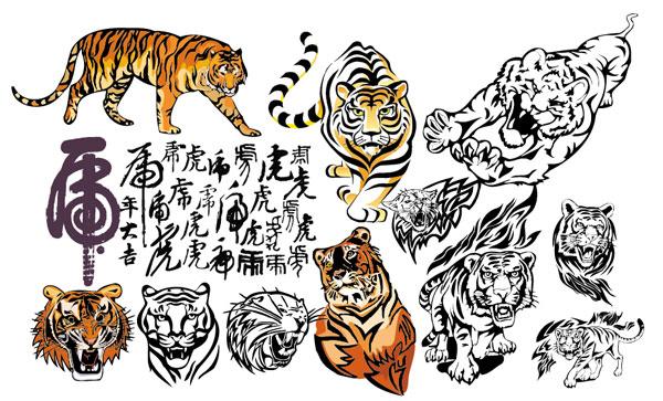 タイガー タイガー 2010年ベクトル