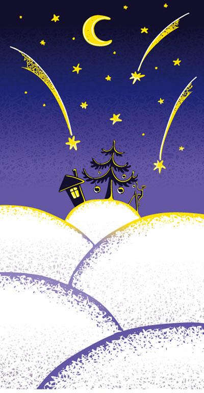 素敵なクリスマス イラスト ベクター