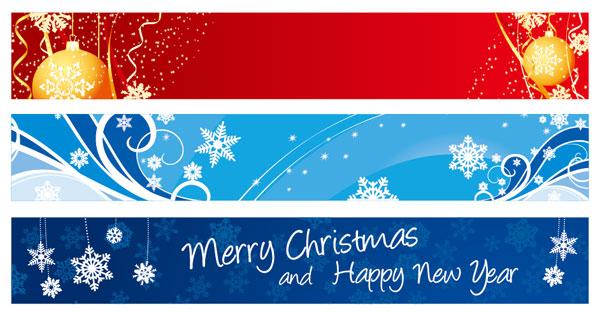 Banner de Navidad exquisito