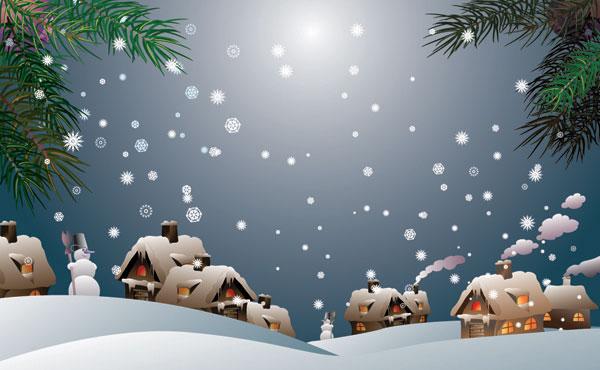 雪ベクトル材料-1
