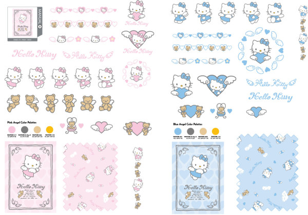 Hello kitty; oficial de Vector de 09