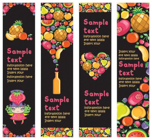 Obst translucent vektor
