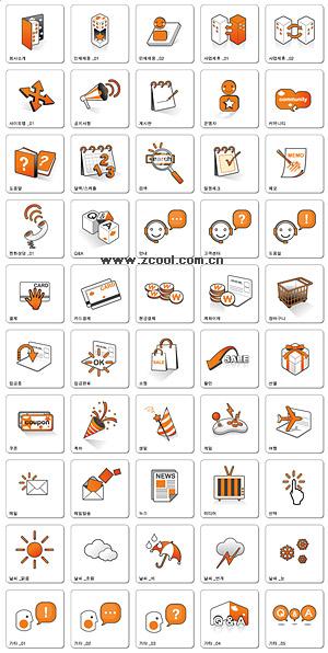 Веб-дизайн серый декоративные оранжевый значок