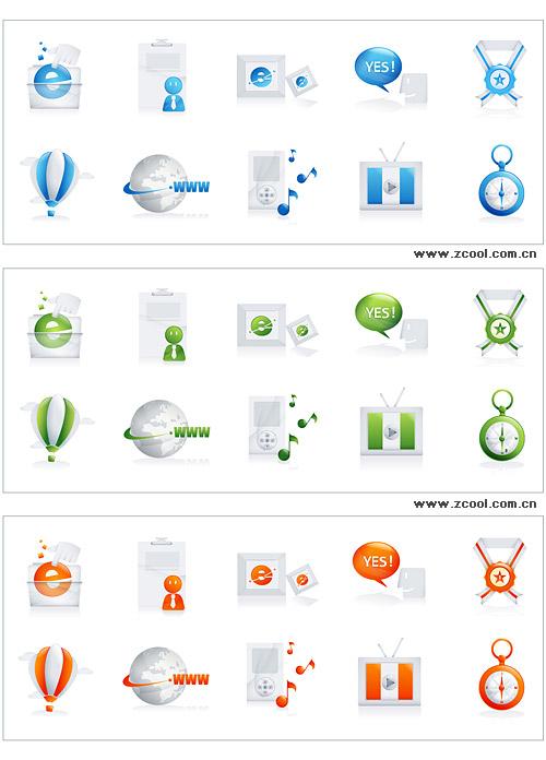 Hoy icono serie vector material-3