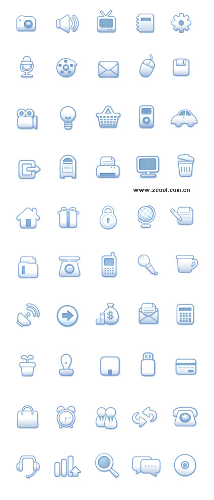 Simple and practical web design icon vector material