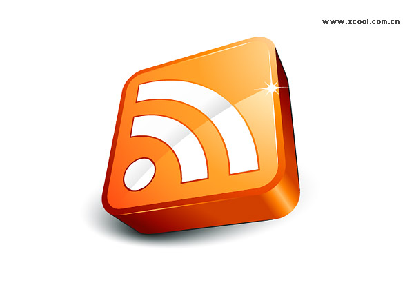 Icono RSS suscribirse exquisita cortina de material