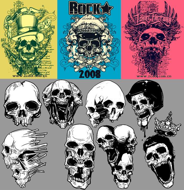 La tendencia de cráneo