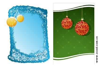 Navidad decoración 2 elemento vector de material