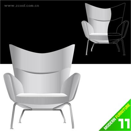 Moda silla vector material-2
