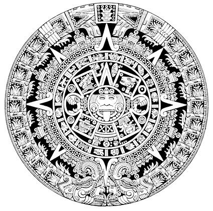 Material de vector clásico patrón circular misteriosa