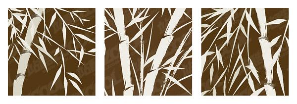 Materiales de bambú local vector