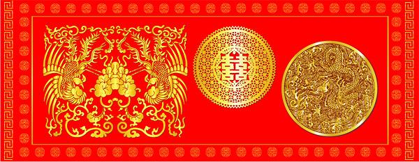 中国の古典的なパターン ベクトル材料