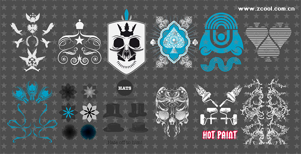 Set Free Fuctastic trend element vector material