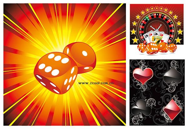 Material de póker de bosones vectoriales