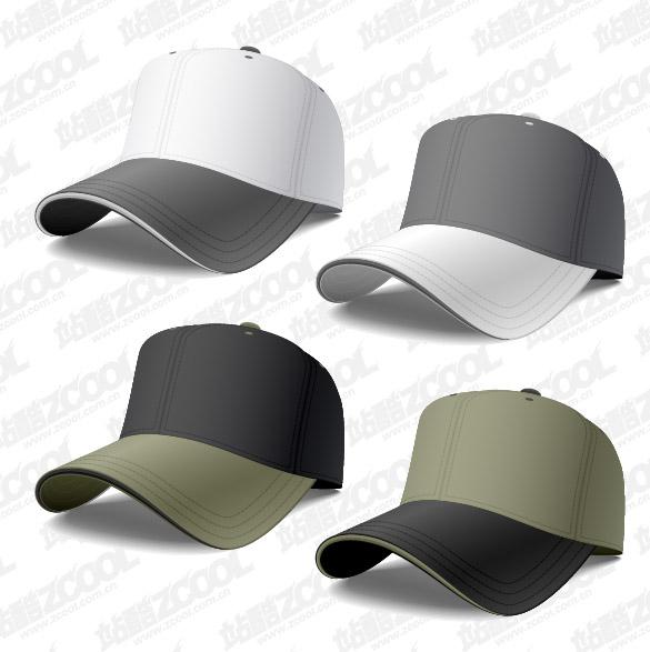 Material de gorra de béisbol de vectores
